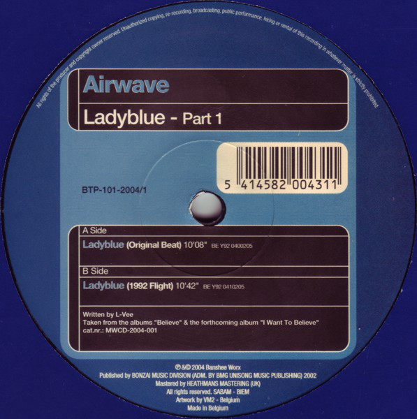 Airwave- Ladyblue